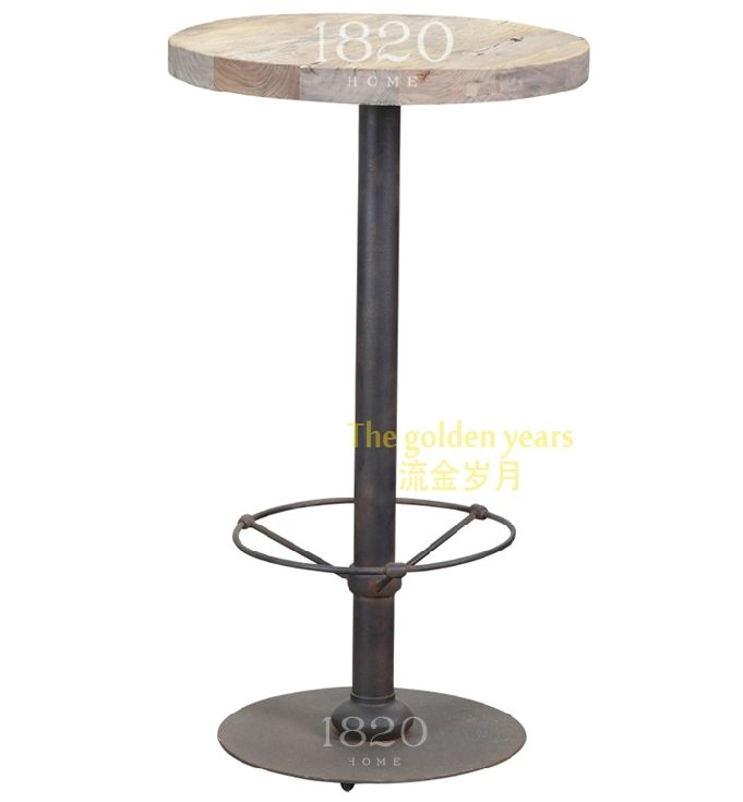 Купить товарФранцузский стиль кантри деревянная мебель чердак коллажей технологии ветер старый вяз имитация кованого железа руст , чтобы сделать старый барная стойка в категории Кофейные столикина AliExpress.
