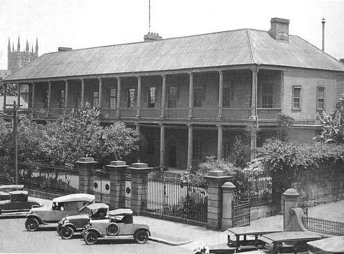 Sydney Hospital (year unknown).A♥W