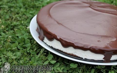 Túró rudi torta recept fotóval
