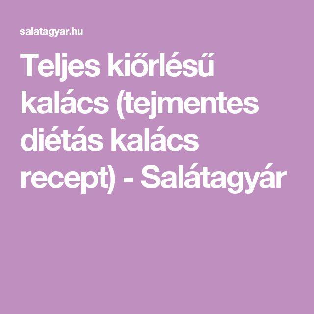 Teljes kiőrlésű kalács (tejmentes diétás kalács recept) - Salátagyár