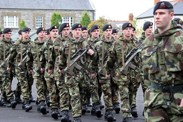 how to join the irish army
