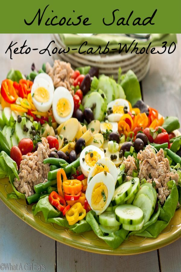 Nicoise Salad Is Low Carb Gluten Free Whole30 Paleo And Keto