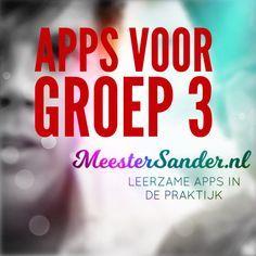Reken en Taal apps voor in groep 3! Bekijk ze op www.meestersander.nl