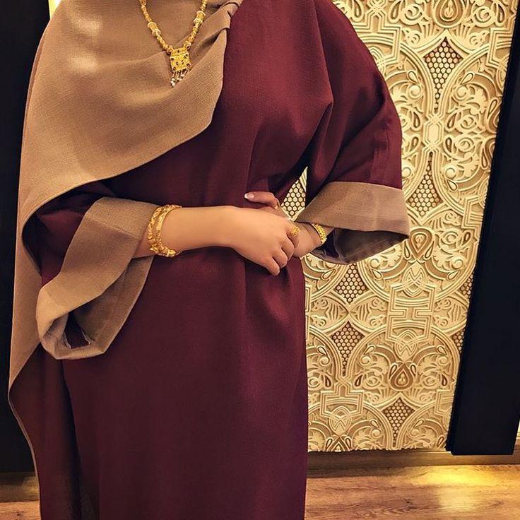 IG: HamdaQayed || IG: BeautiifulinBlack || Abaya Fashion ||