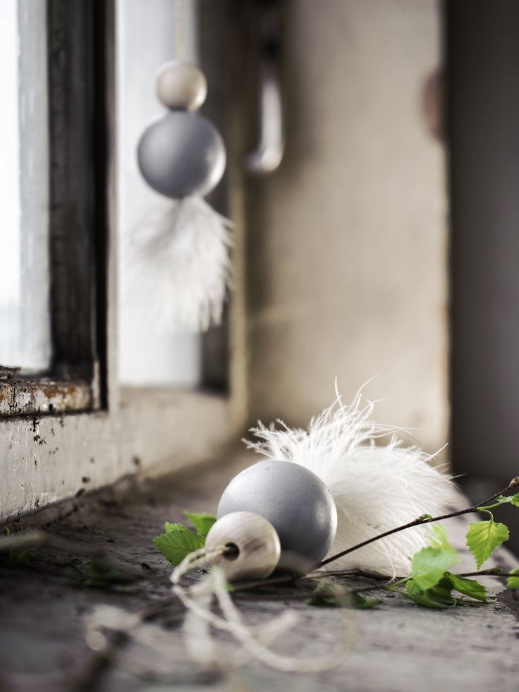 DIY | Osterdeko mit Holzkugeln