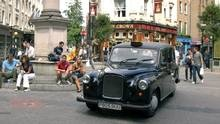 London's black cabs hit the end of the road