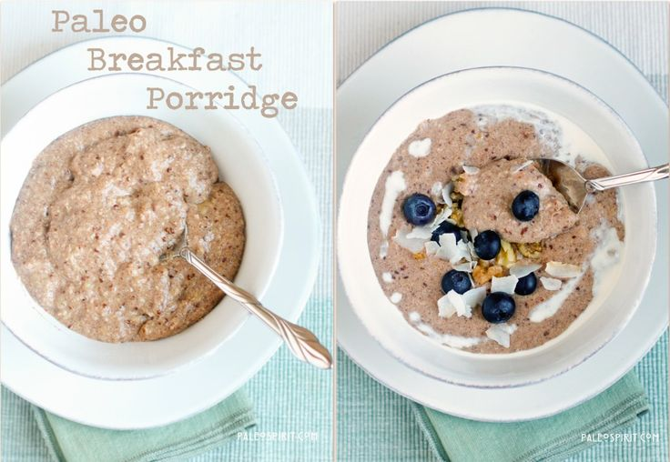 Paleo Breakfast Porridge...I might try this. Hopefully I will like it as I can't stand any of the other hot cereal options