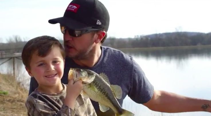 Luke Bryan's Latest Music Video Features His Wife And Kids