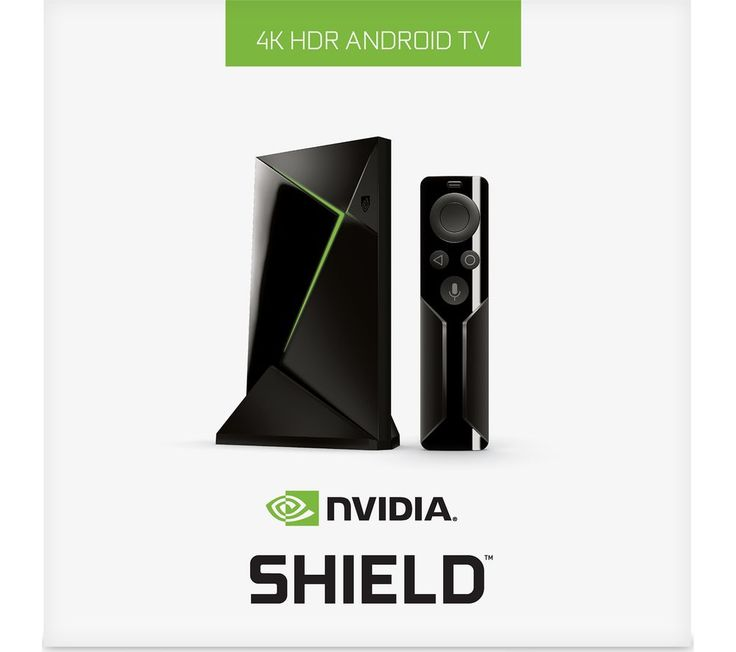 Buy NVIDIA SHIELD 4K Media Streaming Device - 16 GB  Remote Price: £179.99 Top features: - Watch the hottest new entertainment in stunning 4K via streaming TV services - Stream games or cast from your PC to your living room - Built-in Chromecast 4K Ultra so you can share media from your phone to your TV Watch the hottest new entertainmentEnjoy the best new shows, movies and more in stunning...