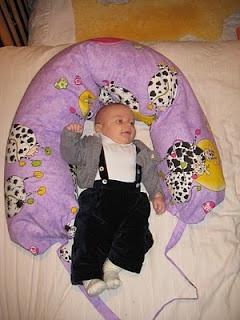 cuscino allattamento DIY