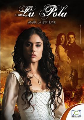 Carolina Ramírez como 'la Pola' (de la telenovela colombiana)