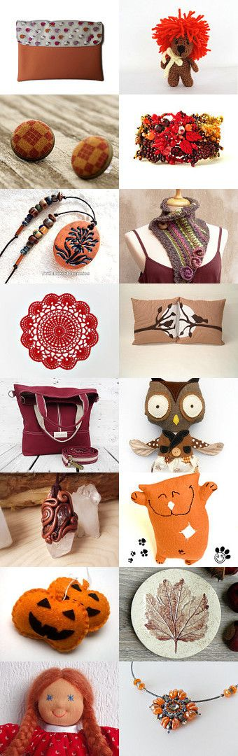 Autumn colors by Veronika on Etsy--Pinned with TreasuryPin.com