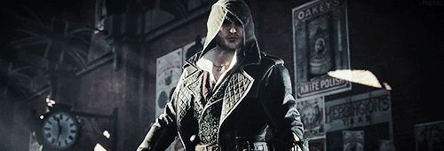 Showing off the Kukri blade.   Assassins Creed Syndicate.
