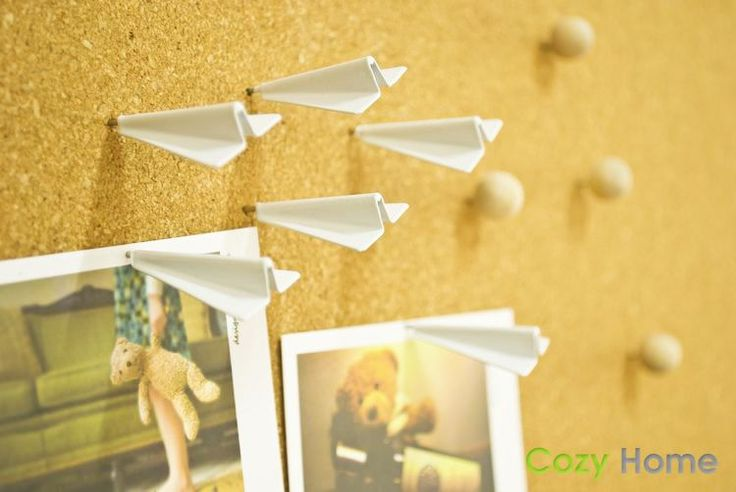INFMETRY:: Paper Plane Push Pins - New Products | $4
