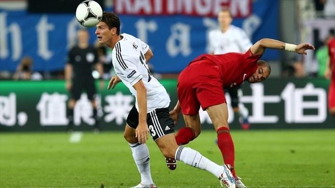 UEFA EURO - Germany – Portugal. Gomez - Pepe
