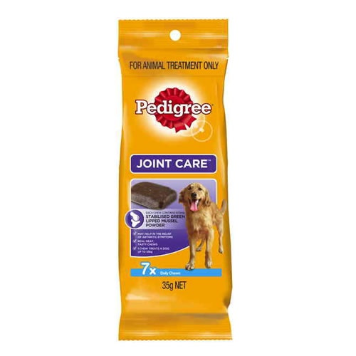 Pedigree Joint Care : Improvement in symptoms can be seen within 6 weeks.