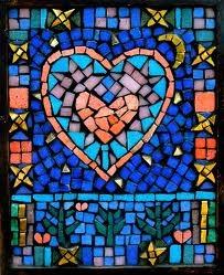 Mosaics - small pieces that make something beautiful - like life.: Mosaics Art, Amazing Art, Glasses Mosaics, Ahola Kelly, Glasses Art, Kelly Ahola, Gorgeous Mosaics, Mosaics Heart, Stained Glasses