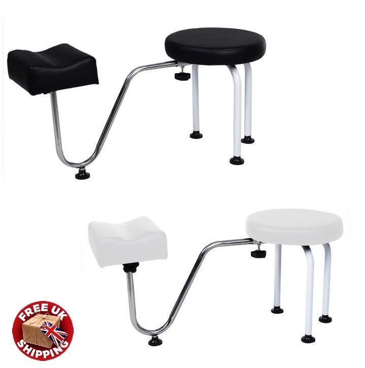 Pedicure Foot Rest Manicure Stool Chair Adjustable Nail Leg Beauty Salon Station Foot Rest Beauty Salon Stations Stool Chair