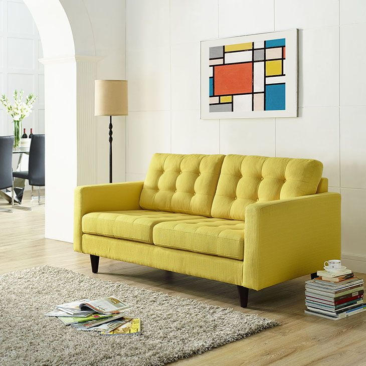 Leather Sectional Sofa Empress Loveseat Modern Wow