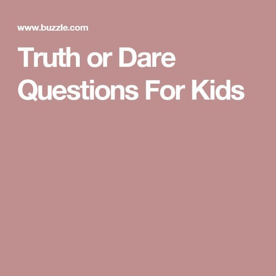Best 25+ Truth Or Dare Questions Ideas On Pinterest