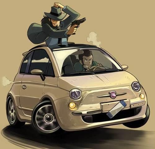 This Fiat is pack'n!