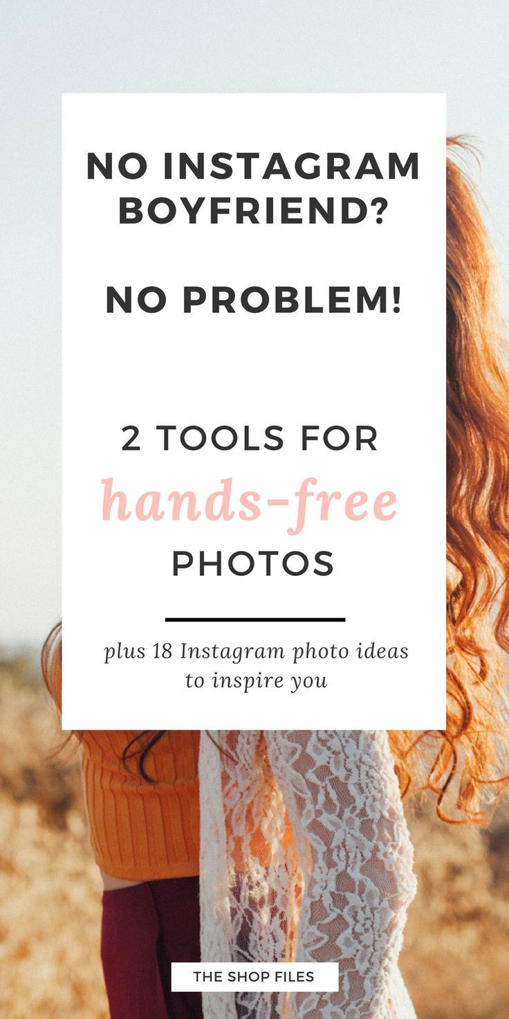 """Capture those great """"hands in frame"""" Instagram photos with two simple tools! How to take hands-free photos so you can feature your hands in the shot. 