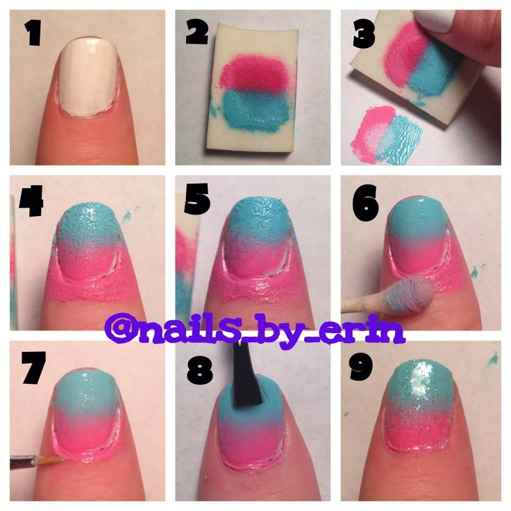 Ombre Nails Step By Step Best Nail Designs 2018