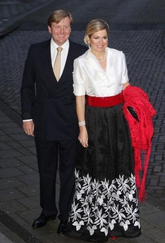 Princess Maxima of the Netherlands, April 2012