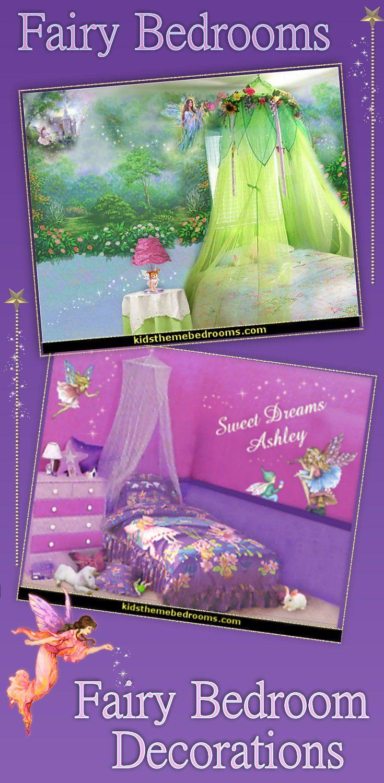 Fairy Bedroom Decorating Ideas Enchanted Forest Fairy Decorating Fairy Wall Murals Fun Fairy