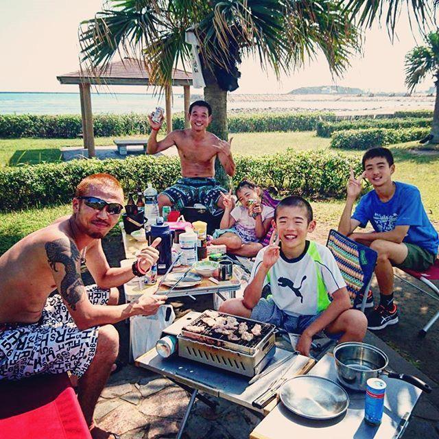 #サンビーチ一ツ葉 で#BBQ 日差しは#まだまだ夏 でした☀️ 日焼けもしたし、潮干狩りもしたし お肉🍖🔥🍴もたくさん食べて 最高に楽しい1日でした🌊🌴 #miyazaki #sunbeach #hitotsuba #daycamp #outdoor #beer #sun #ocean #sea #nature  #宮崎 #バーベキュー #日焼け #デイキャンプ #肉 #ビール #秋とは思えない暑さ #思い出作り #楽しかったなー #素敵な1日