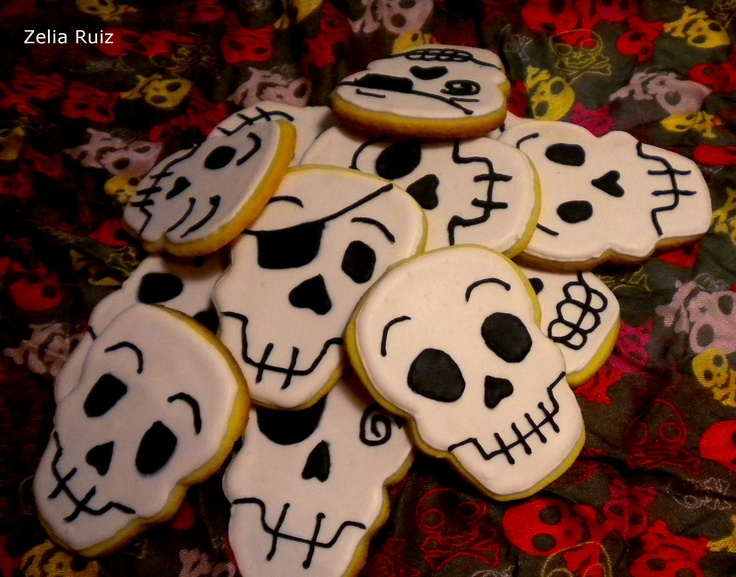 Skull Galletas Glasa