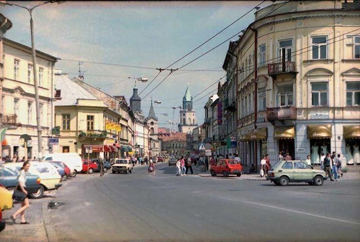 ul. Krakowskie Przedmieście, 1993 r. źródło; IVRP