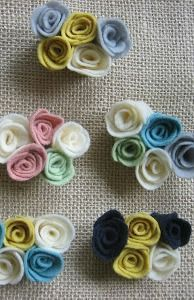Easy Tutorial On How To Make These Cute Felt Rosettes Guest Post Rosette Pins