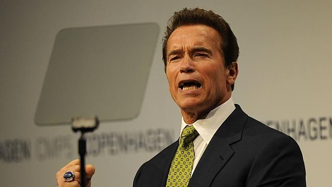 Arnold Schwarzenegger is Brisbane bound.