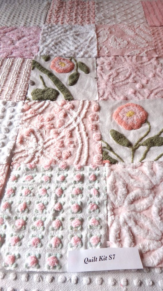 """Found this """"quilt"""" kit online, but neat idea and super simple to make."""