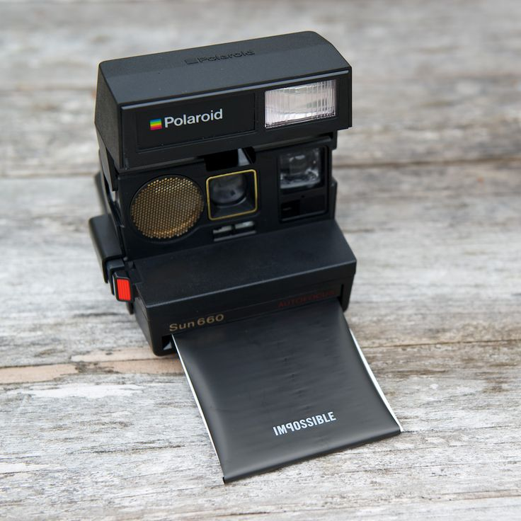 Take awesome analog photos with these refurbished vintage Polaroids from @Impossible Project