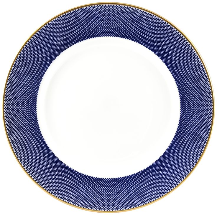 "10"" 'Benday Cobalt' Stunning Dinner Plate. Cobalt design complimented with 22kt Gold rims and accents, this luxury range provides a touch of class and elegance. Hand made in Stoke-on-Trent, England, this collection is inspired by Benjamin Day: 'our homage to the dot'. Handwash Only, Fine Bone China. Find out more here: https://thenewenglish.co.uk/collections/benday-cobalt #TheNewEnglish #Benday #Cobalt"