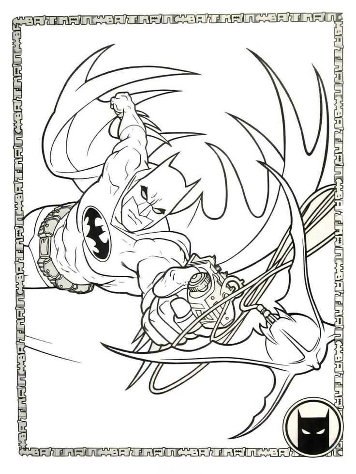 46 best Batman Coloring Book Pages images on Pinterest | Batman ...