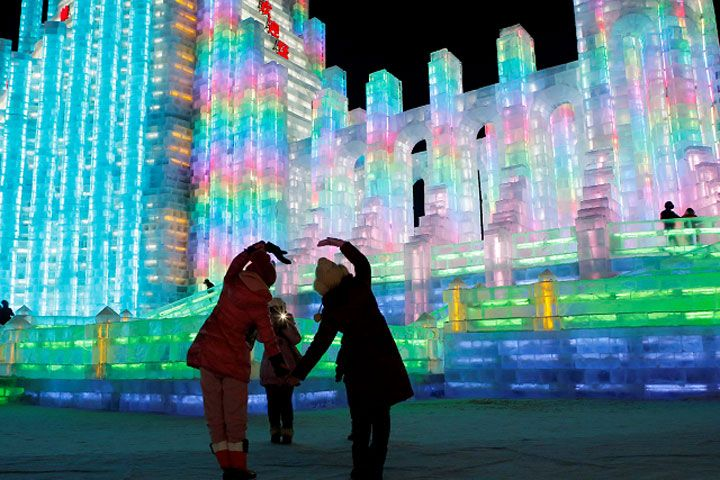 Este domingo abre el Festival de Hielo y Nieve en Harbin, China FOTOS