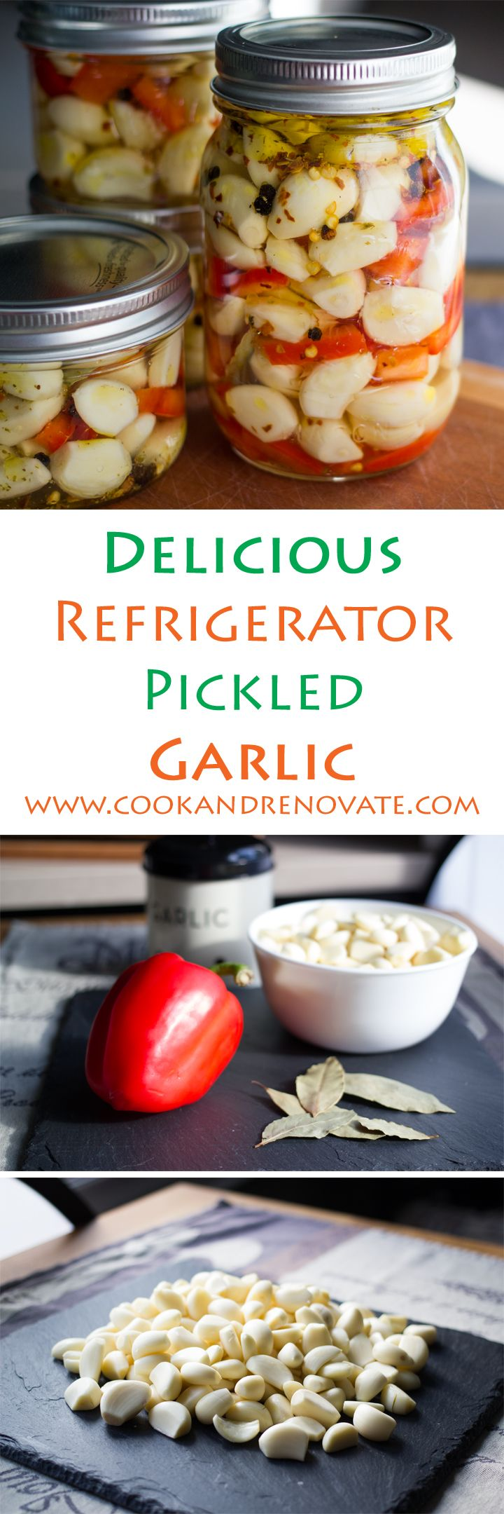 Pickled Garlic At Your Fingertips!