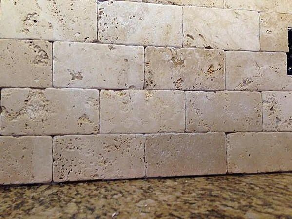 25 best ideas about tumbled marble tile on pinterest for Best grout color for travertine tile