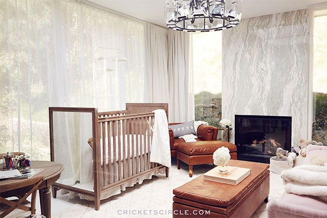5 Reasons to Love Jaime King's Non-Traditional Nursery via Brit + Co.