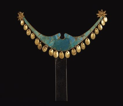 Turqoise nose ornament - Turquoise - Moche culture of Peru Wikipedia, the free encyclopedia