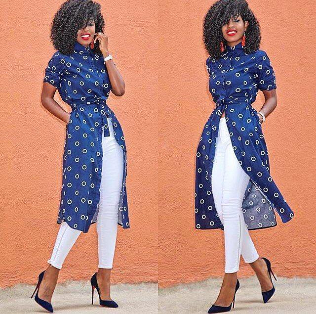 Um look simpático da @stylepantry e uma solução criativa para vestidos de botão apertados no quadril. Você provavelmente sabe do que eu estou falando rs...  #Quadril #TamosAí