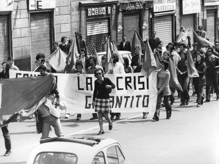 Manifestazione marzo 1972