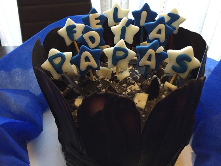 #FelizDiaPapa - Chocolate cake