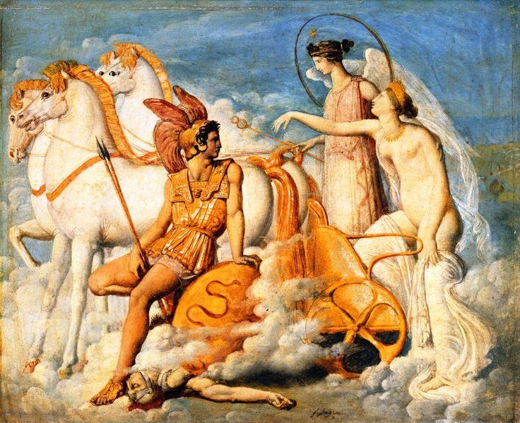 Jean-Auguste-Dominique Ingres : Vénus, blessée par Diomède, 1800