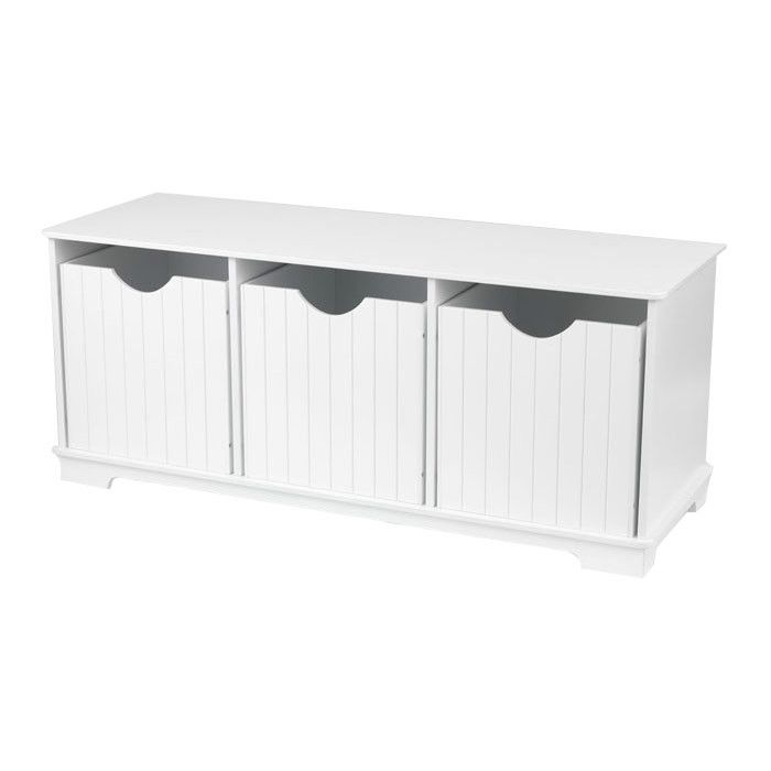 Toy Bench Storage Part - 25: Buy Your Nantucket Storage Bench - White By KidKraft Here. Keep Your Kidu0027s  Room Looking Sophisticated And Chic With This Nantucket Storage Bench In  White ...