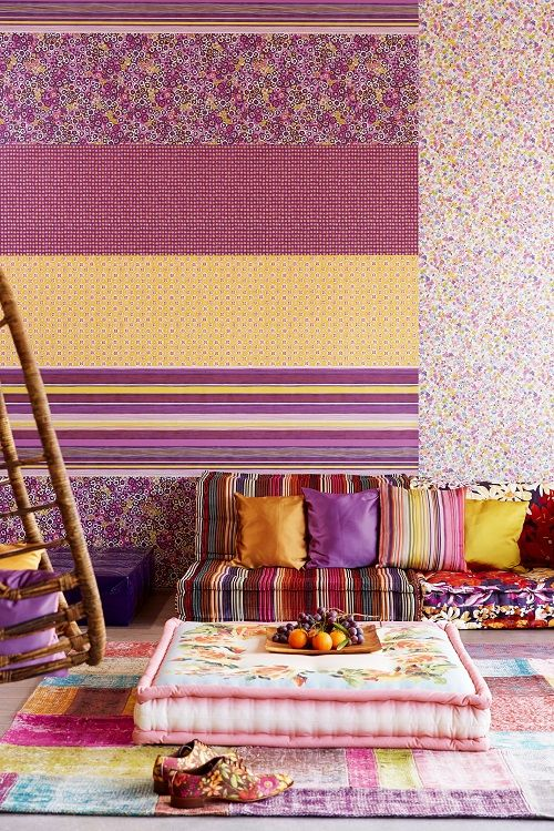 There is something about pastel colours that is so soothing and #relaxing. Introducing #SPRING- dedicated to the beautiful #pastel #colours and shades… Rediscover the appeal of pastels with #Goodrich. Featured #Wallcovering from #Raval, #Eijffinger, Goodrich