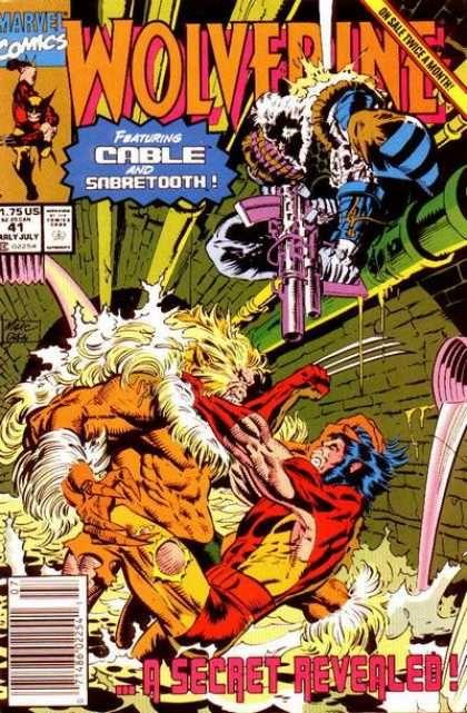 Marvel - Wolverine - Cable - Sabertooth - Secret Revealed - Marc Silvestri